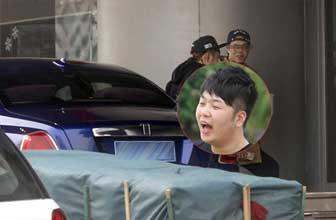 杜海涛回京派豪车接送