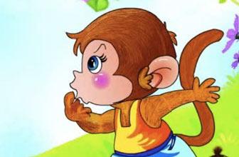 经典童话之猴子捞月亮