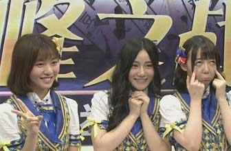 SNH48成员现场五连拍