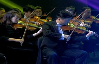 交响乐团演出震撼现场