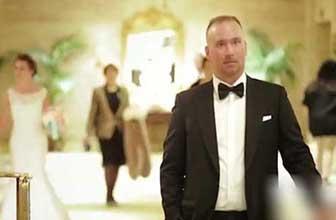 新郎看见新娘的那一刻