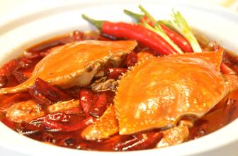 用梭子蟹烹饪超鲜美食