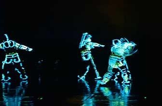 科技舞蹈引爆颁奖现场