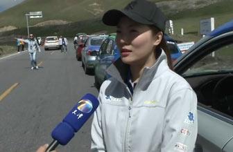 美女车手讲述比赛经历