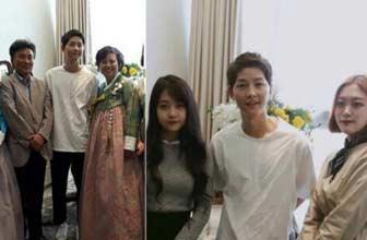 宋仲基参加好友的婚礼